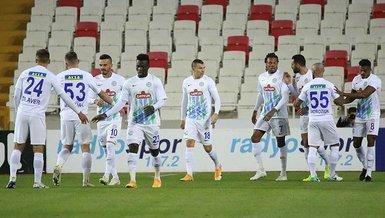 Sivasspor 0-2 Çaykur Rizespor | MAÇ SONUCU