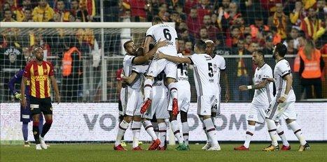 Besiktas defeat Goztepe 3-1 in Izmir