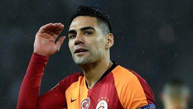 Falcao devreye girdi! Galatasaray'a sert orta saha