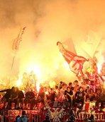 Partizan ateşli seyircisiyle dikkat çekiyor!