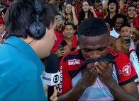 Real Madrid'in yeni transferi Vinicius Junior hüngür hüngür ağladı!