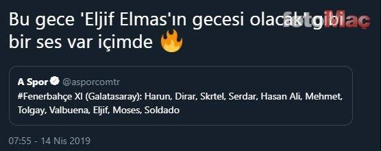 Eljif Elmas yaşından büyük seriyi devam ettirdi!