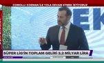 Süper Lig'in toplam geliri açıklandı