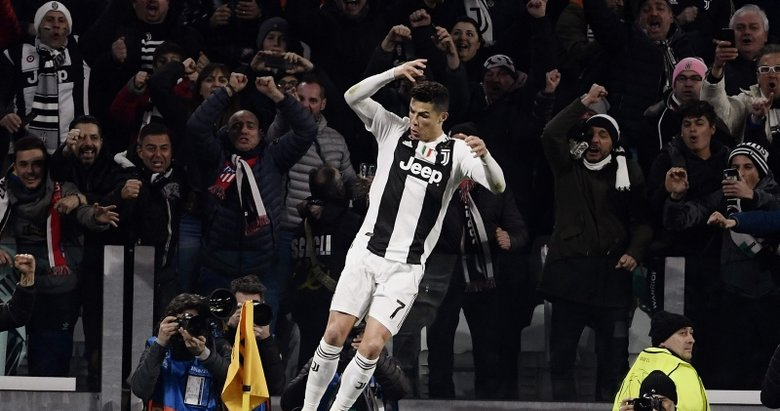 Juventus - Atletico Madrid maçından kareler