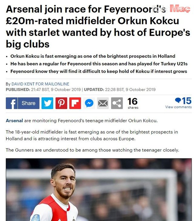 Arsenal'de Mesut Özil'in yerine Türk yıldız düşünülüyor