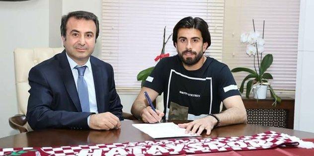 Hatayspor Akın Alkan ile 2 yıllık sözleşme imzaladı