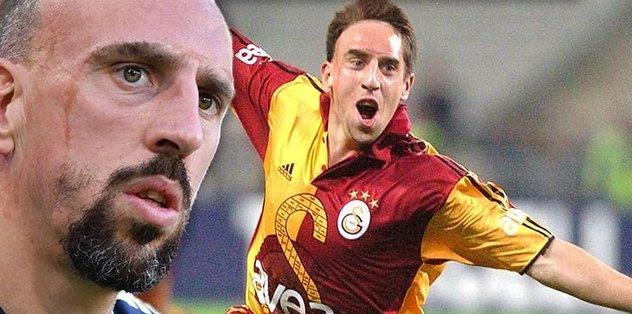 Ribery Galatasaray'da! Fransızlar transferi böyle duyurdu...