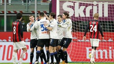 Milan Atalanta 0-3 (MAÇ SONUCU - ÖZET)