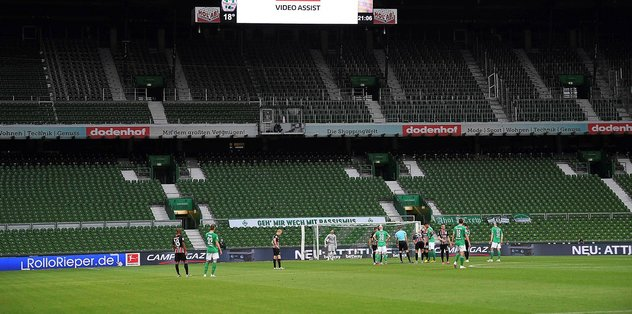 German football superfan cures the empty stadium blues