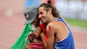 Yüksek atlamada 2 şampiyon! Altın madalyayı paylaştılar