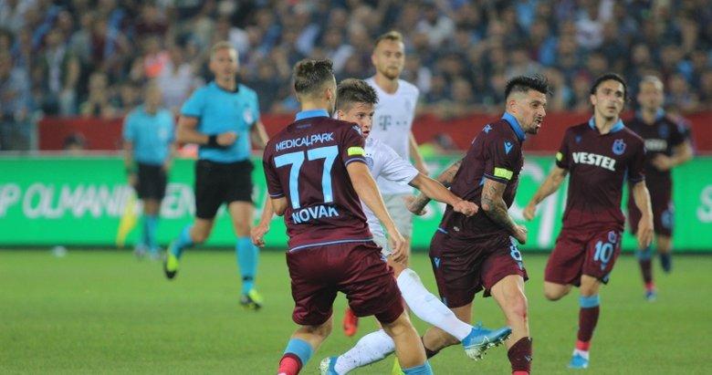 Trabzonspor - Sparta Prag maçından kareler...