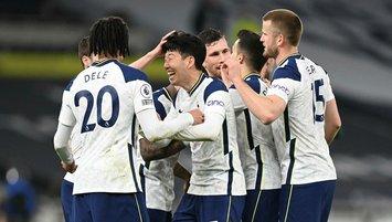 Tottenham evinde dört köşe!