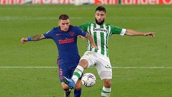 A. Madrid R. Betis'e takıldı!