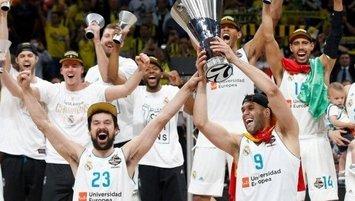 THY Euroleague'yi en çok kazanan takım Real Madrid!