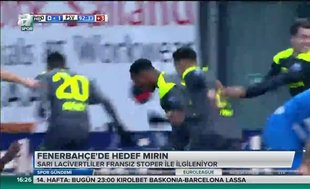 Fenerbahçe'de hedef Mirin
