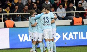 Başakşehir kayıpsız devam ediyor   Y. Malatyaspor 0-2 Medipol Başakşehir