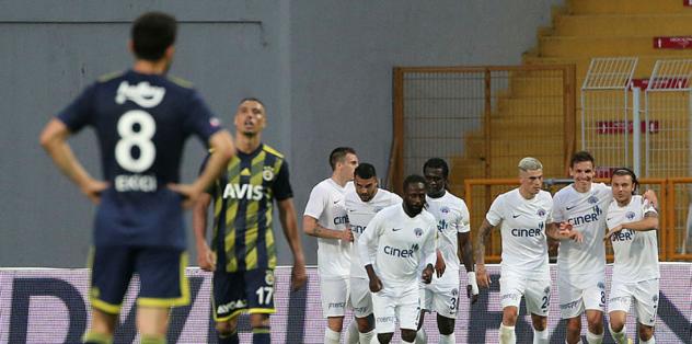 Kasımpaşa 2-0 Fenerbahçe | MAÇ SONUCU
