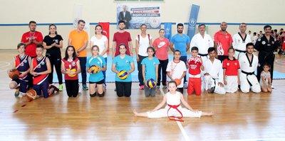 Manavgat'ta yaz spor okulları başladı