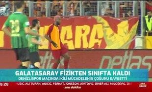 Galatasaray fizikten sınıfta kaldı