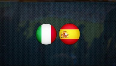 İtalya-İspanya maçı CANLI