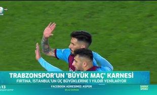 Trabzonspor derbilerde bir yıldır yenilmiyor