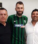 Denizlispor'da yeni transferler kampa katıldı