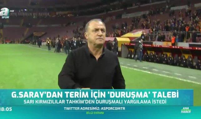 Galatasaray'dan Fatih Terim için 'duruşma' talebi!