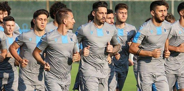 Trabzonspor çift antrenmanla hazırlıklarını sürdürdü