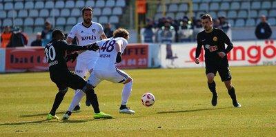 Elazığspor, Eskişehir'i tek golle devirdi