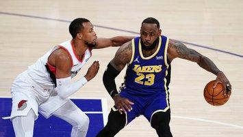 Lakers Portland'ı devirdi