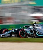 Mercedes driver Bottas wins season opening