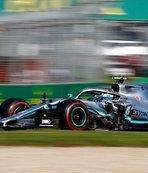 Mercedes driver Bottas wins season opening