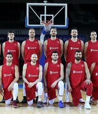 A Milli Erkek Basketbol Takımı Slovenya karşısında