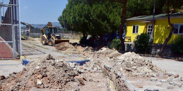 Bucaspor tesisleri yenileniyor