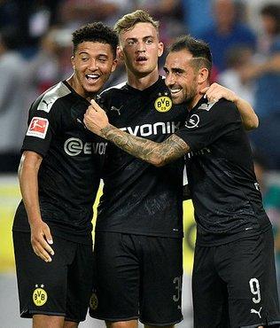 Borussia Dortmund 3 puanı 3 golle aldı