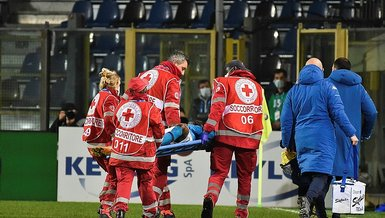Napoli's Osimhen in hospital after head injury
