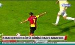 Fenerbahçe'nin kötü gidişatı Daily Mail'de