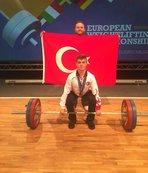 Bilecikli halterci Avrupa Şampiyonası'nda üçüncülük elde etti