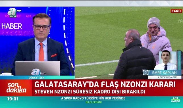 Galatasaray'dan flaş Nzonzi kararı!