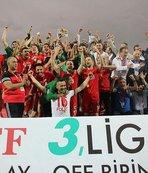 Bayrampaşaspor uzatmalarda 2. Lig'e yükseldi!