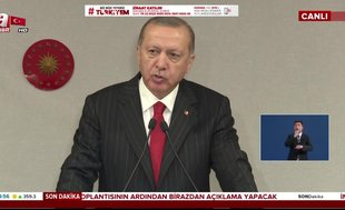 Başkan Erdoğan: İki yeni salgın hastanesi yapılacak