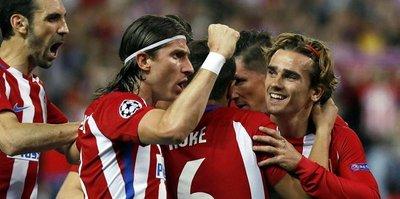 Atletico Madrid sürprize izin vermedi