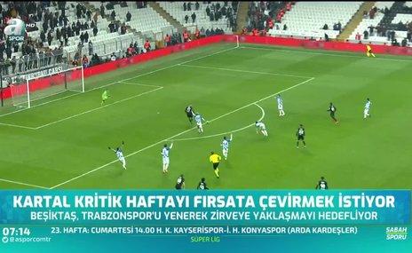 Beşiktaş kritik haftayı fırsata çevirmek istiyor