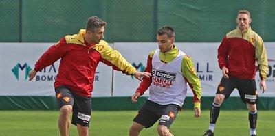 Göztepe'de Antalyaspor maçı hazırlıkları