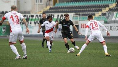 Denizlispor - Antalyaspor: 1-1 (MAÇ SONUCU - ÖZET)