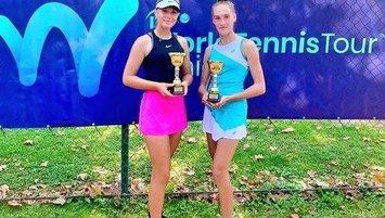 Genç tenisçi Melisa Şenli şampiyon oldu!