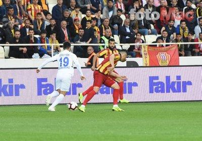 Yeni Malatyaspor - Erzurumspor maçından kareler...