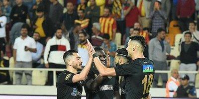 Yeni Malatyaspor'dan gol patlaması