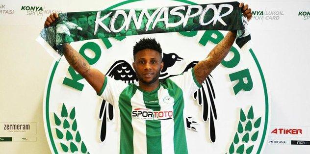 Konyaspor, Ezekiel ile imzaladı