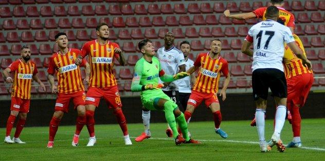 Beşiktaş ilk yarıda Lung'u geçemedi! - Futbol -